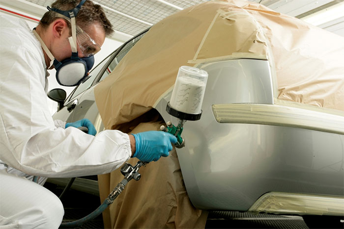 Proposed Automotive Refinish Coatings SCM